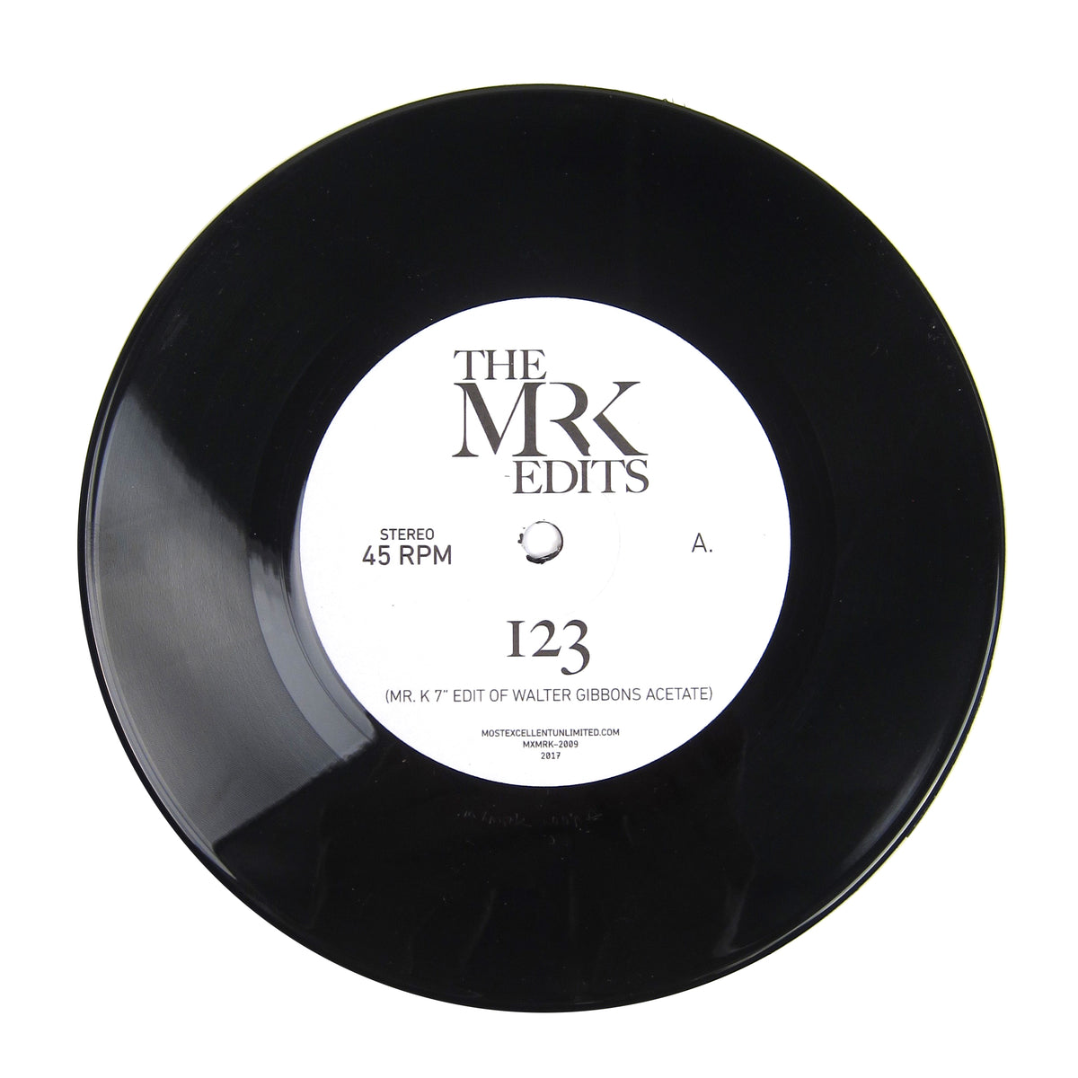 Mr. K: 123 / My Sweet Summer Suite (Walter Gibbons, Love Unlimited Orchestra, Danny Krivit) Vinyl 7""