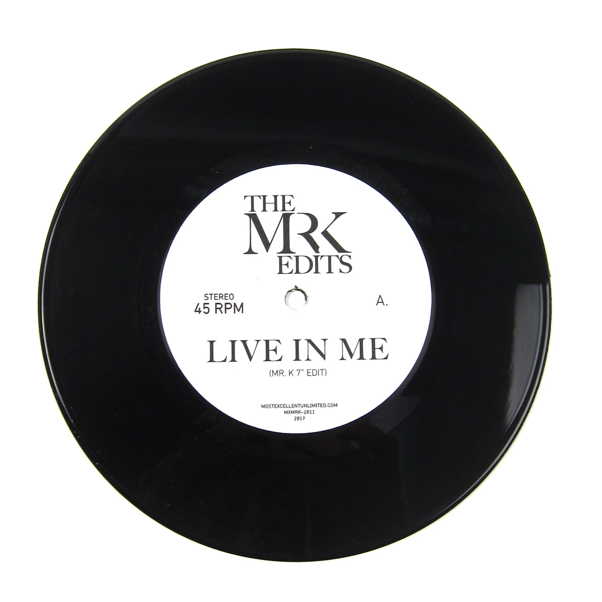 Mr. K: Live In Me / Warm Weather (Rufus & Chaka Khan, Pieces Of A Dream) Vinyl 7""