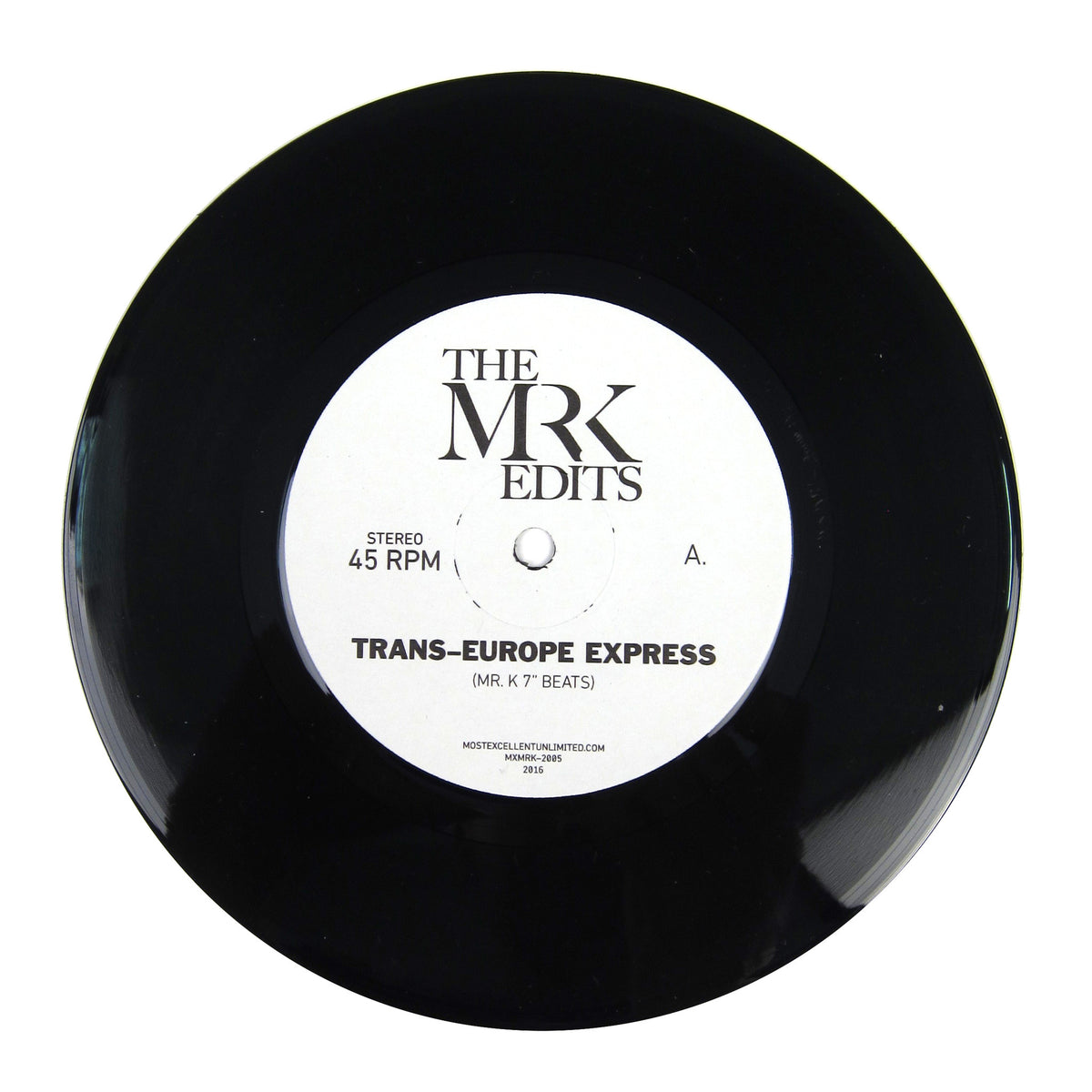 Mr. K: Trans-Europe Express Edits (Kraftwerk) Vinyl 7""