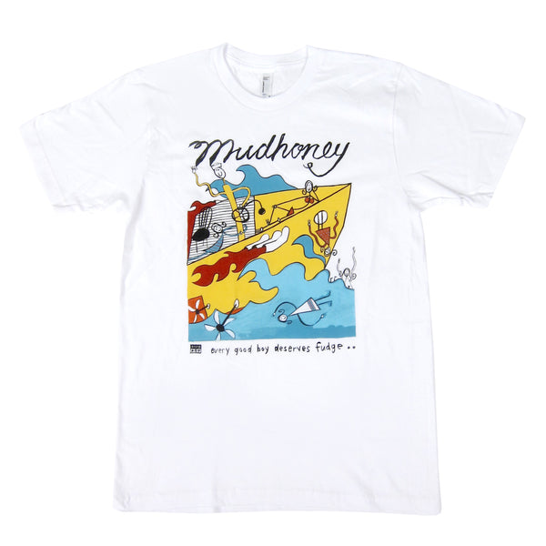 Mudhoney: EGBDF Shirt - White