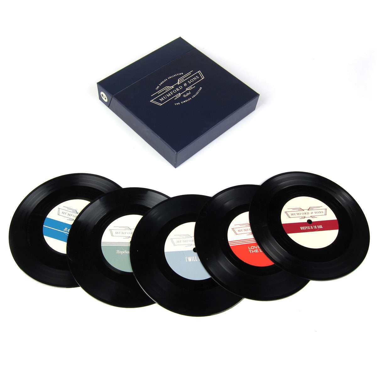"Mumford & Sons: Babel - The Singles Collection Vinyl 7"" Boxset"