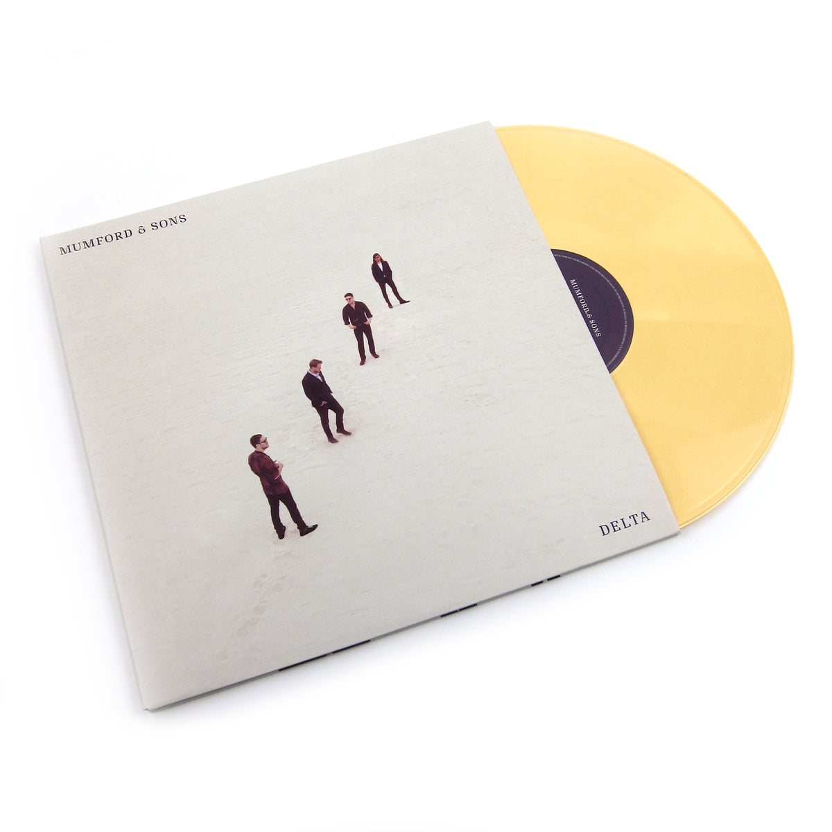 Mumford & Sons: Delta (Indie Exclusive Colored Vinyl) Vinyl 2LP