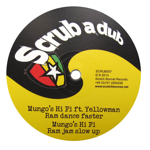 Mungo's Hi-Fi: Dubplate Master (feat. Yellowman) 12""