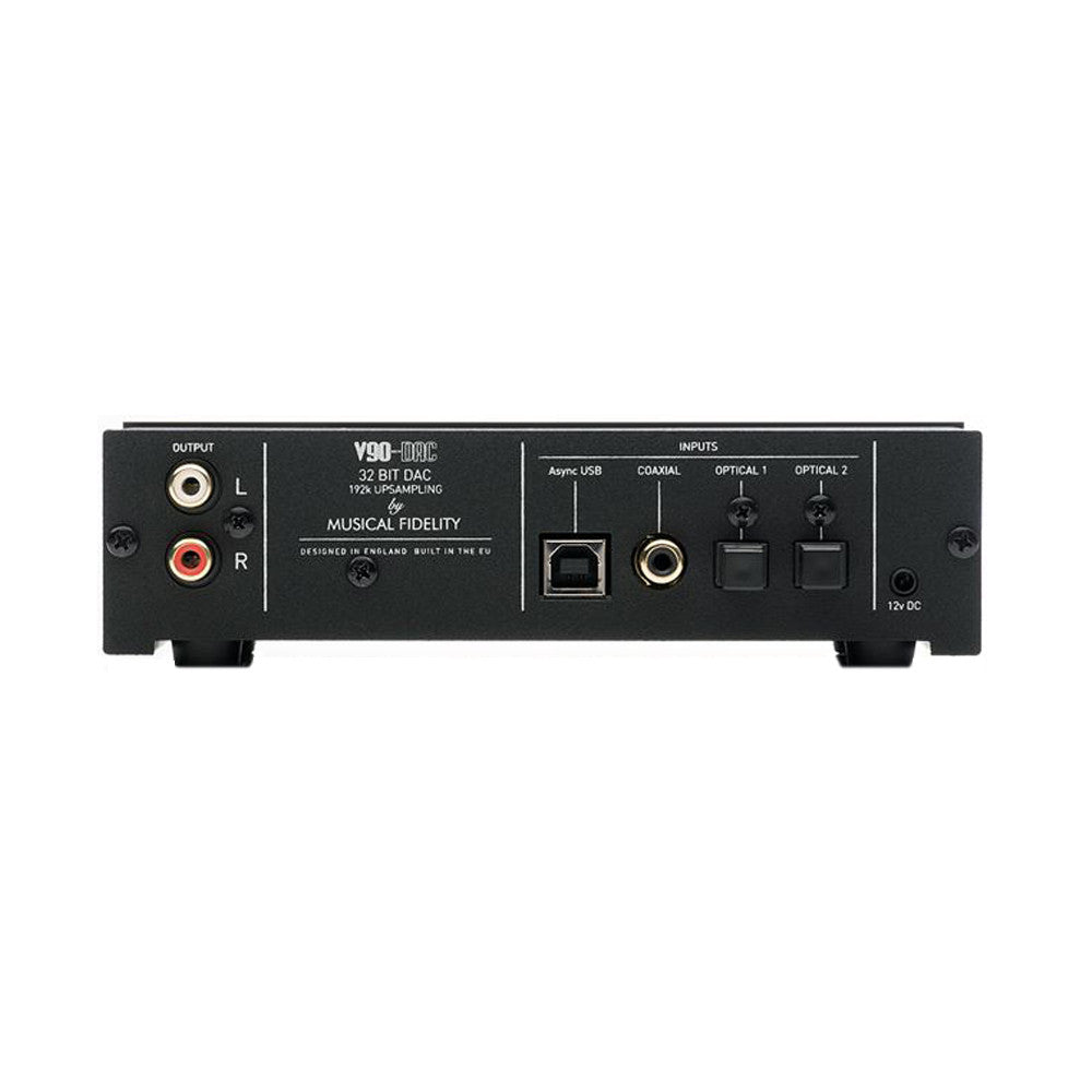 Musical Fidelity: V90-DAC Digital To Analog Converter - Black (DAC)