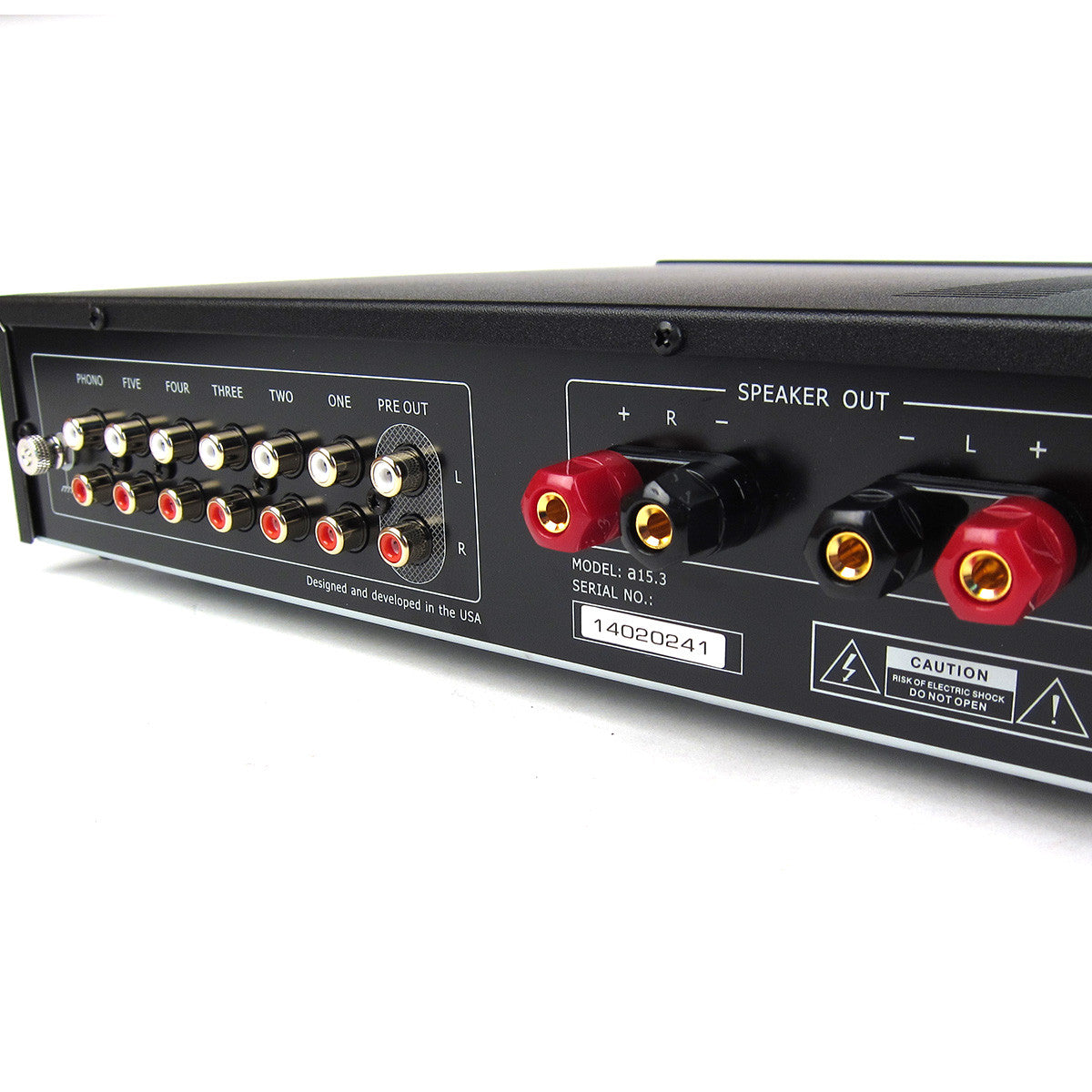 Music Hall: a15.3 Integrated Amplifier - Inputs