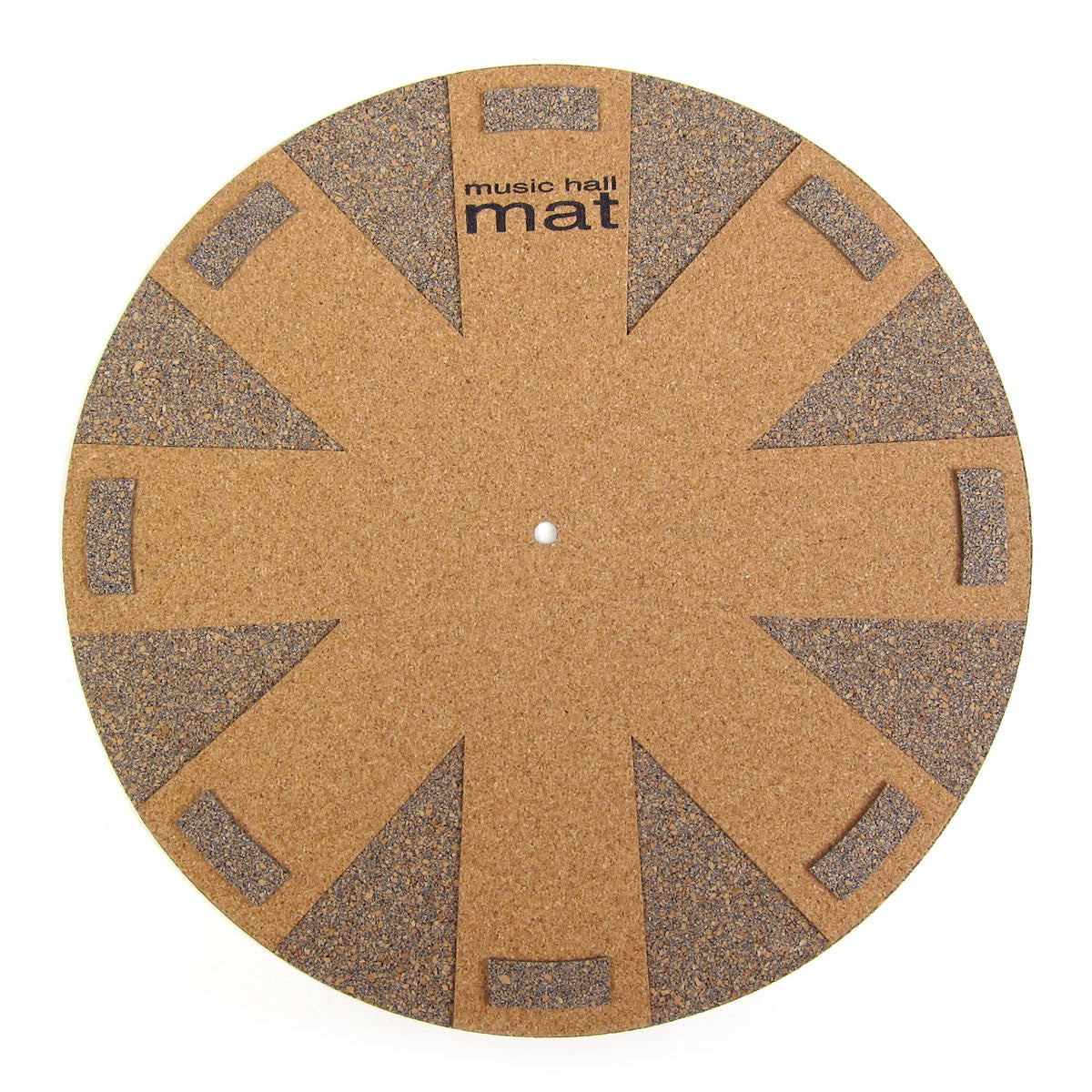 Music Hall: Aztec Blue Cork Record Mat