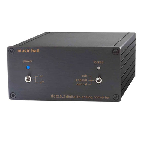 Music Hall: DAC 15.2 USB Digital To Analog Converter