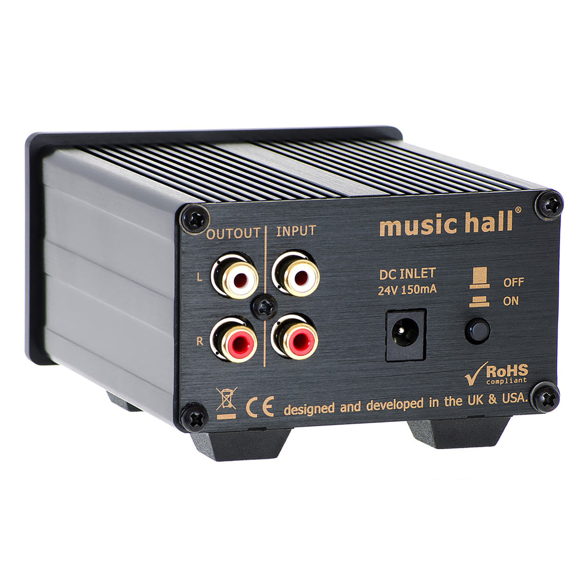 Music Hall: ha11.1 Headphone Amplifier - Black