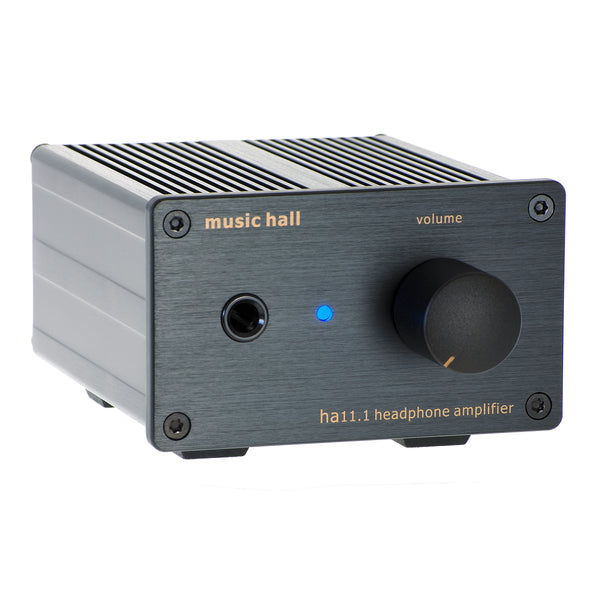 Music Hall: 11.1 Headphone Amplifier - Black