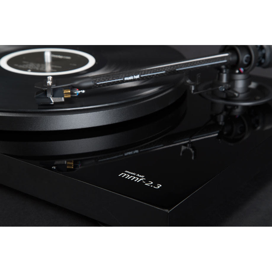 Music Hall: MMF 2.3 Turntable w/ Spirit Cartridge - Piano Black