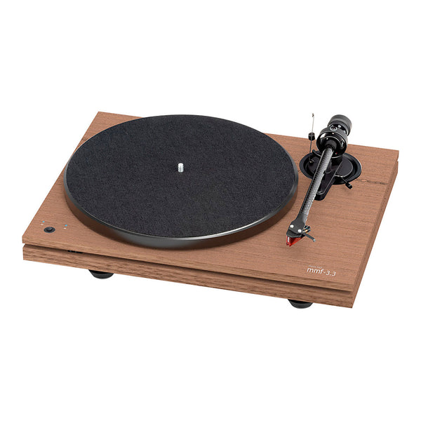 Music Hall: MMF 3.3 Turntable - Walnut