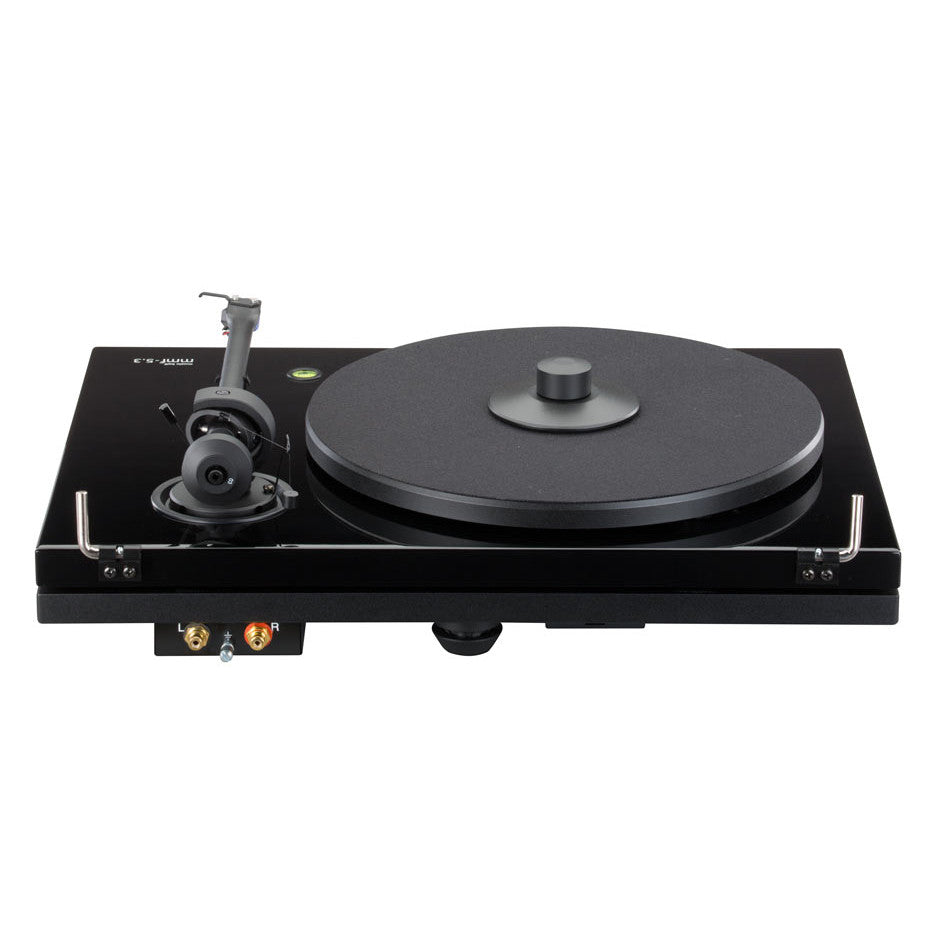 music hall mmf 5 3 turntable w ortofon 2m blue piano black. Black Bedroom Furniture Sets. Home Design Ideas
