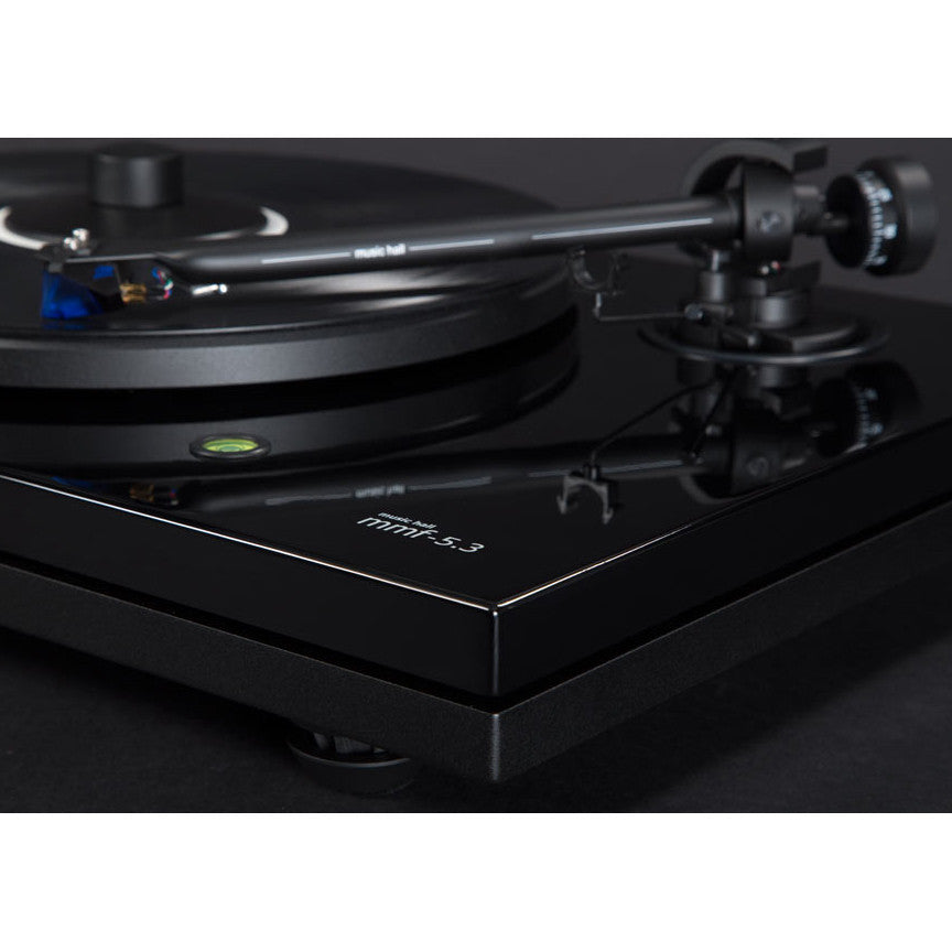 Music Hall: MMF 5.3 Turntable w/ Ortofon 2M Blue - Piano Black