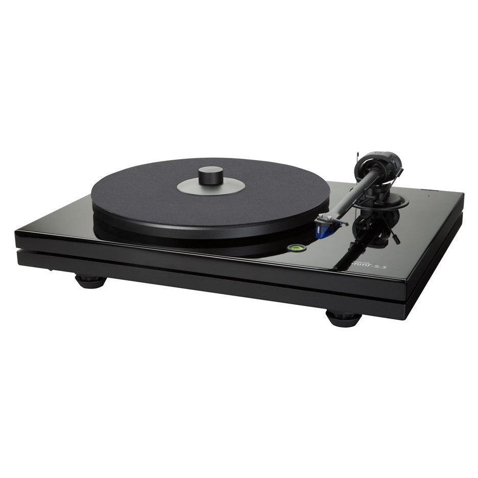music hall mmf 5 3 turntable w ortofon 2m blue piano. Black Bedroom Furniture Sets. Home Design Ideas
