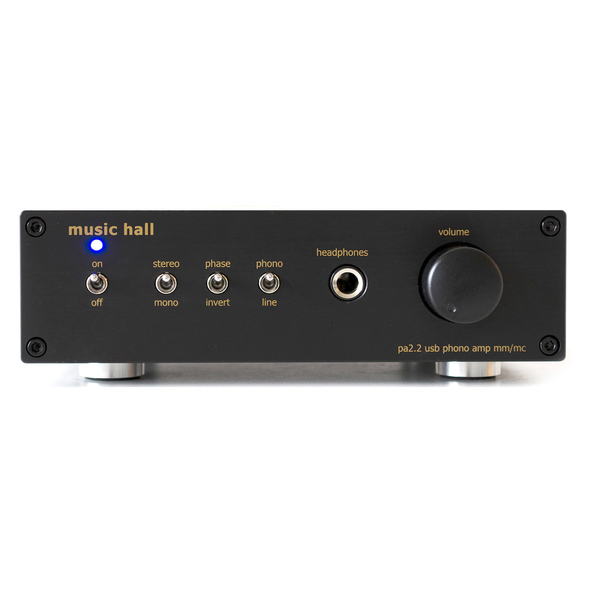 Music Hall: PA2.2 Phono Preamp / Headphone Amp / DAC