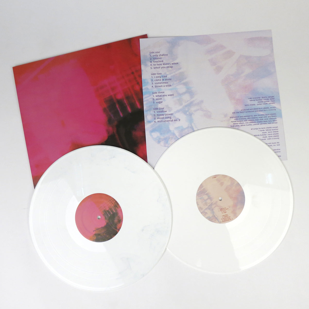 My Bloody Valentine: Loveless (Japanese Version) Vinyl 2LP white layout