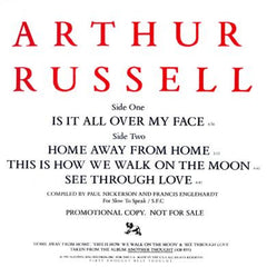 Arthur Russell: Is It All Over My Face 12""