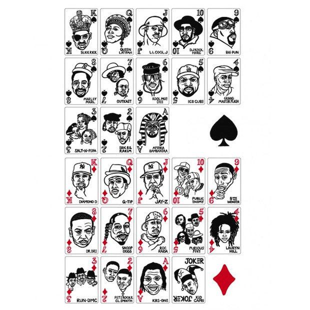 Mynority Classics: Hip-Hop Card Deck by Sayori Wada all
