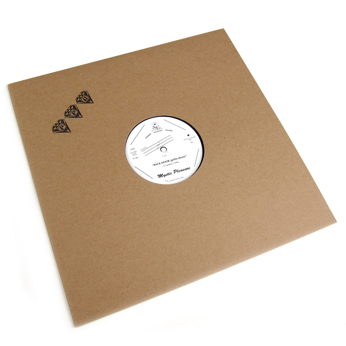 Mystic Pleasure: Back Door (Getting Down) Vinyl 12""