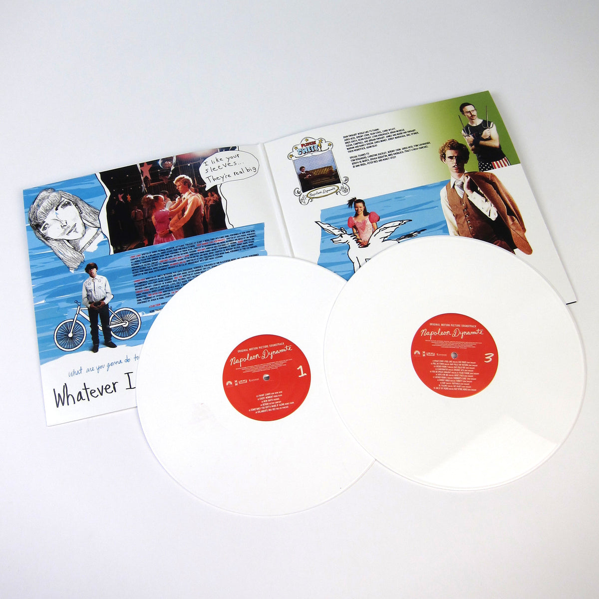 Napoleon Dynamite: Soundtrack (White Colored Vinyl) Vinyl 2LP