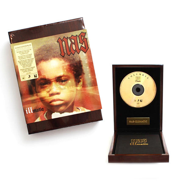 Nas Illmatic Gold Edition CD Boxset