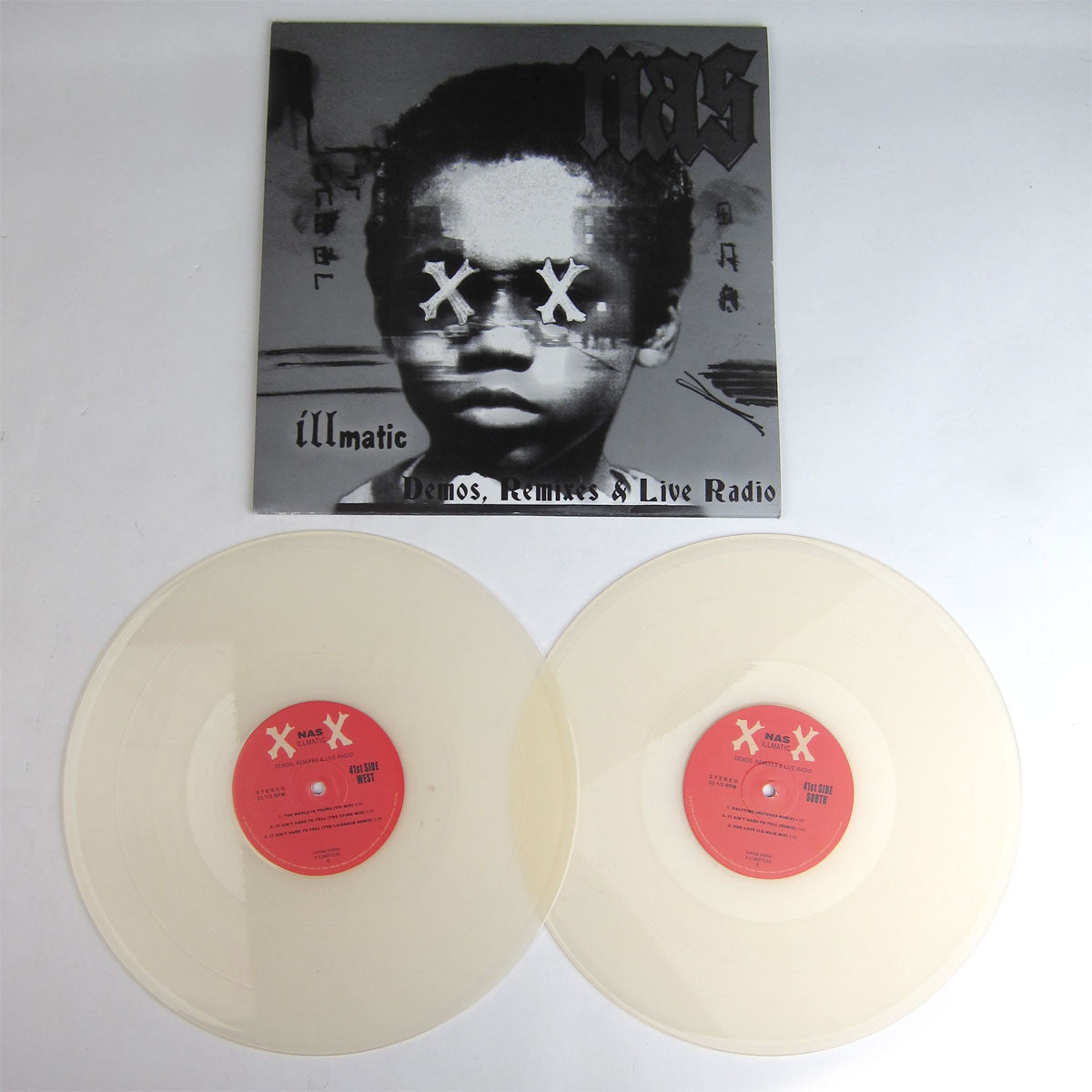 Nas: Illmatic XX - Demos, Remixes & Live Radio (Colored Vinyl) Vinyl 2LP detail