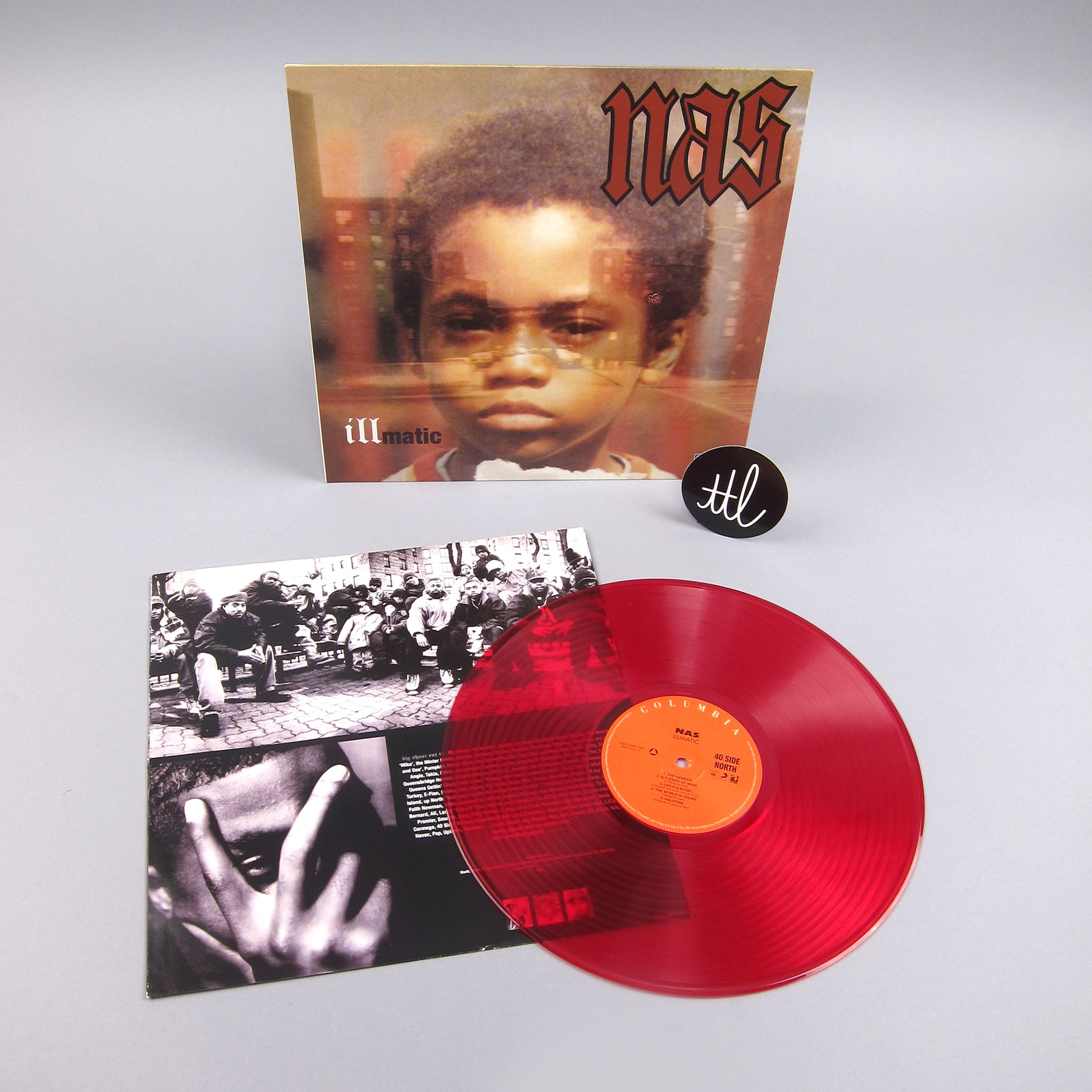 Nas: Illmatic (Colored Vinyl) Vinyl LP - Turntable Lab Exclusive