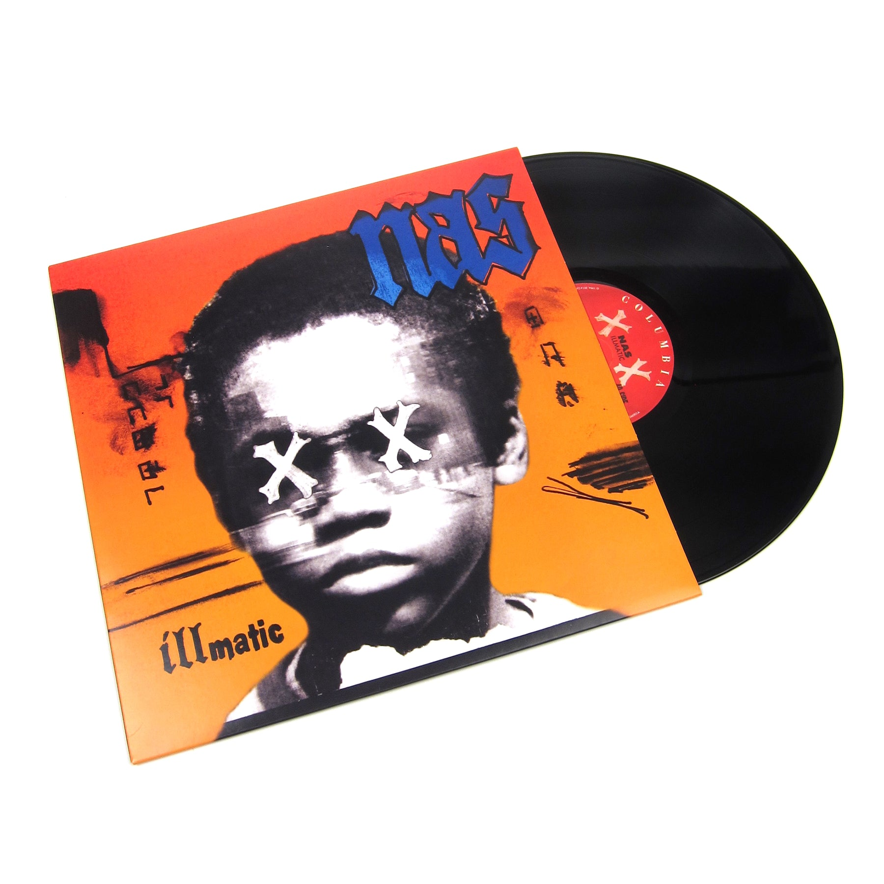 Nas Illmatic XX (180g + Free MP3) Vinyl LP