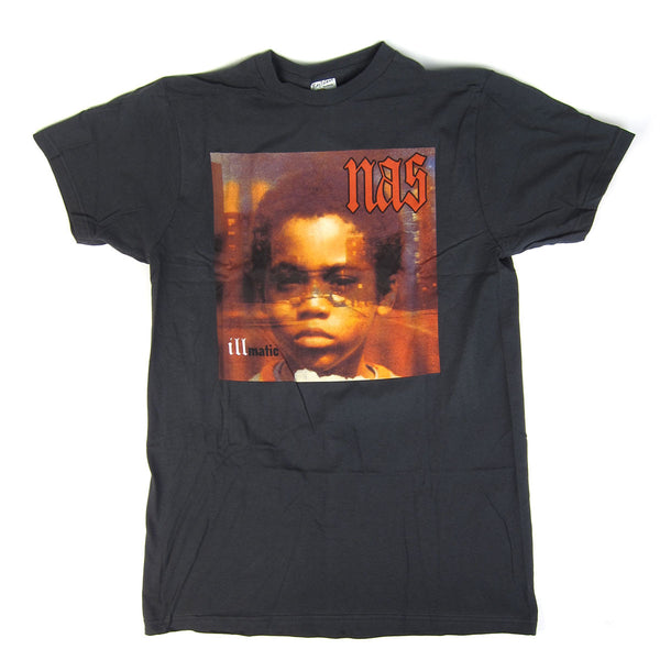 Nas: Illmatic Shirt - Black