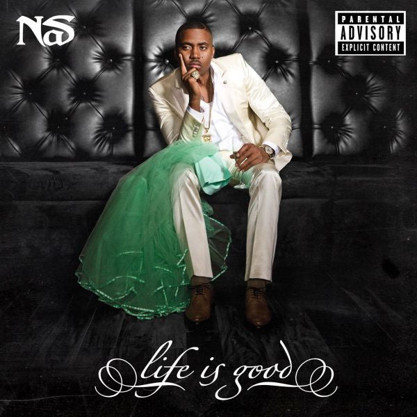 nas life is good 2lp vinyl record