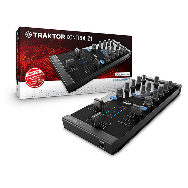Native Instruments: Traktor Kontrol Z1 DJ Mixer / Interface