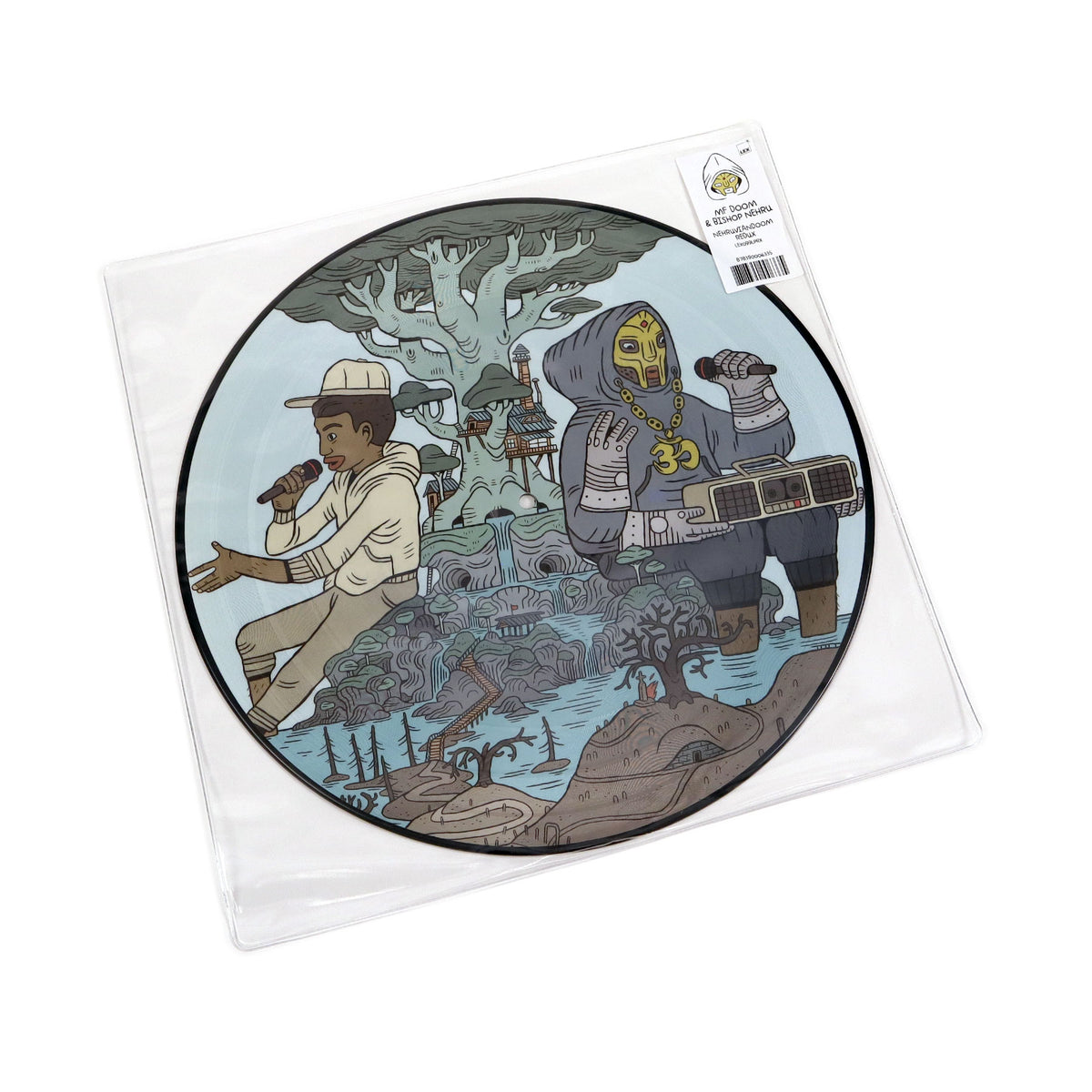 NehruvianDOOM: NehruvianDOOM - REDUX (Pic Disc)