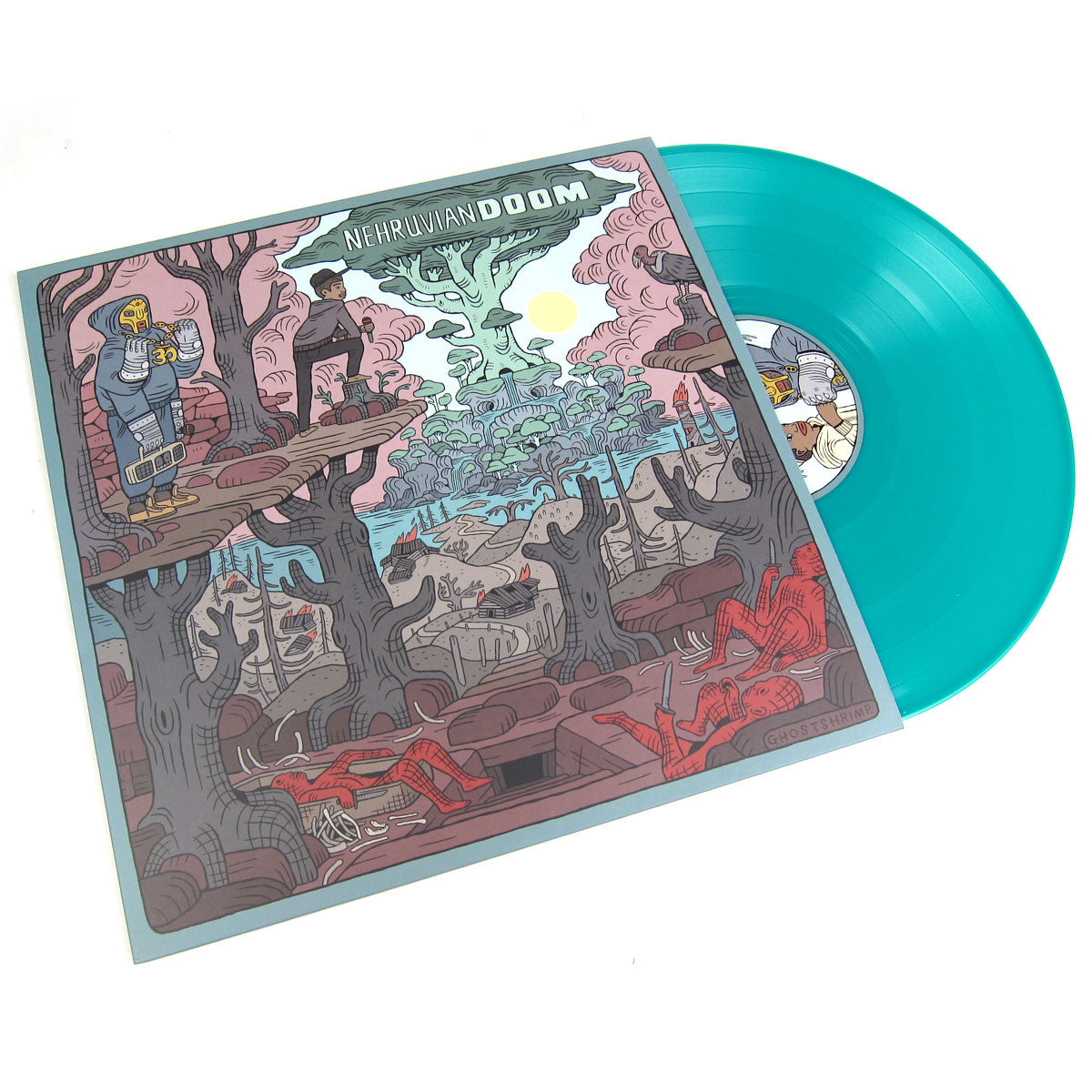 NehruvianDOOM: NehruvianDOOM (Indie Exclusive Colored Vinyl, Free MP3, MF Doom) Vinyl LP