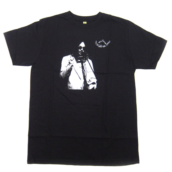 Neil Young: Tonight's The Night Shirt - Black