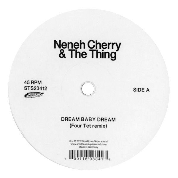 Neneh Cherry & The Thing: Dream Baby Dream (Four Tet, Lindstrom & Prins Thomas) 12""