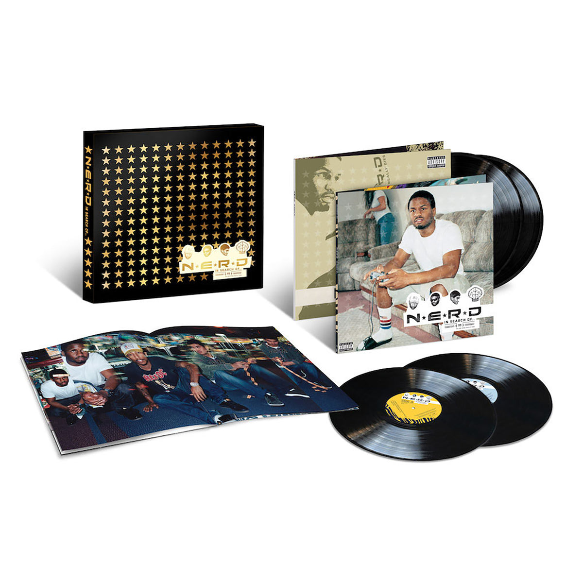 N.E.R.D.: In Search Of... Vinyl 4LP Boxset