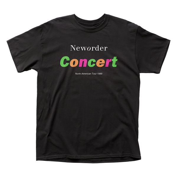 New Order: Concert Shirt - Black