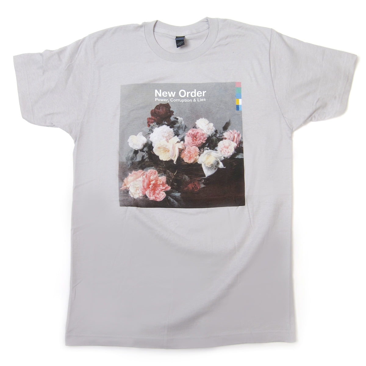 New Order: Power, Corruption & Lies Shirt - Silver
