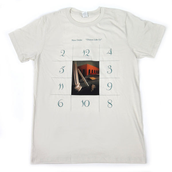 New Order: Thieves Like Us Shirt - Vintage White