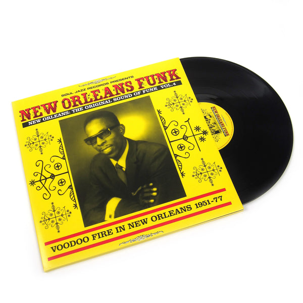 Soul Jazz Records: New Orleans Funk Vol.4 Vinyl 2LP