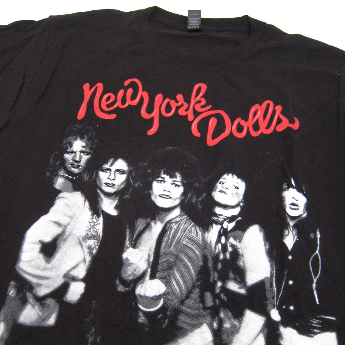 New York Dolls: Trash Photo Shirt - Black