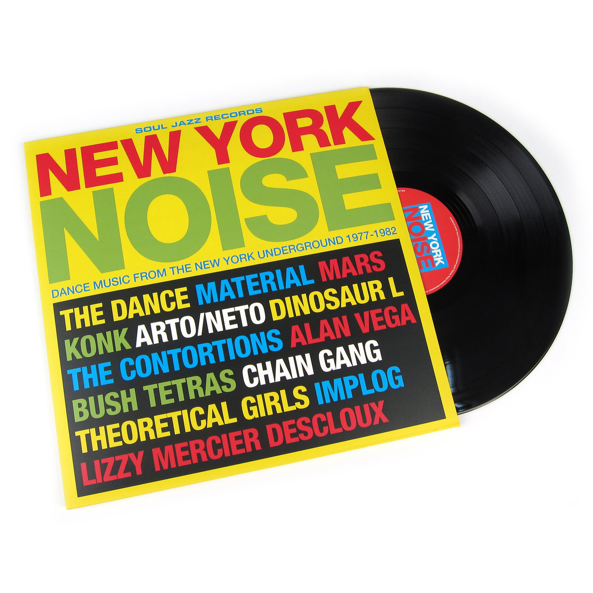 Soul Jazz Records: New York Noise - Dance Music From The New York Underground 1978-1982 Vinyl 2LP