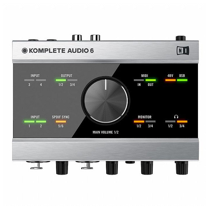 Native Instruments: Komplete Audio 6  - top