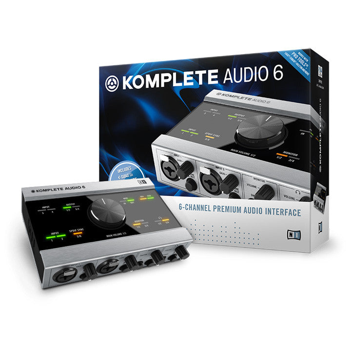 native instruments komplete audio 6 audio usb interface. Black Bedroom Furniture Sets. Home Design Ideas