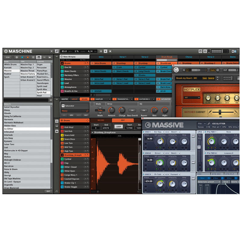 Native Instruments: Maschine Mikro MK2 Groove Production Studio software