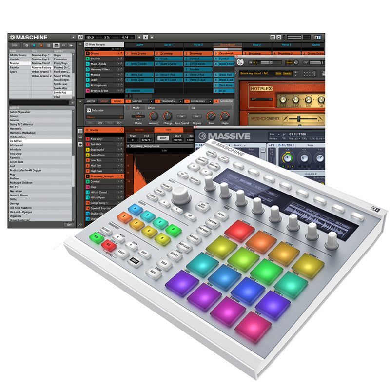 Native Instruments: Maschine MK2 Groove Production Studio white