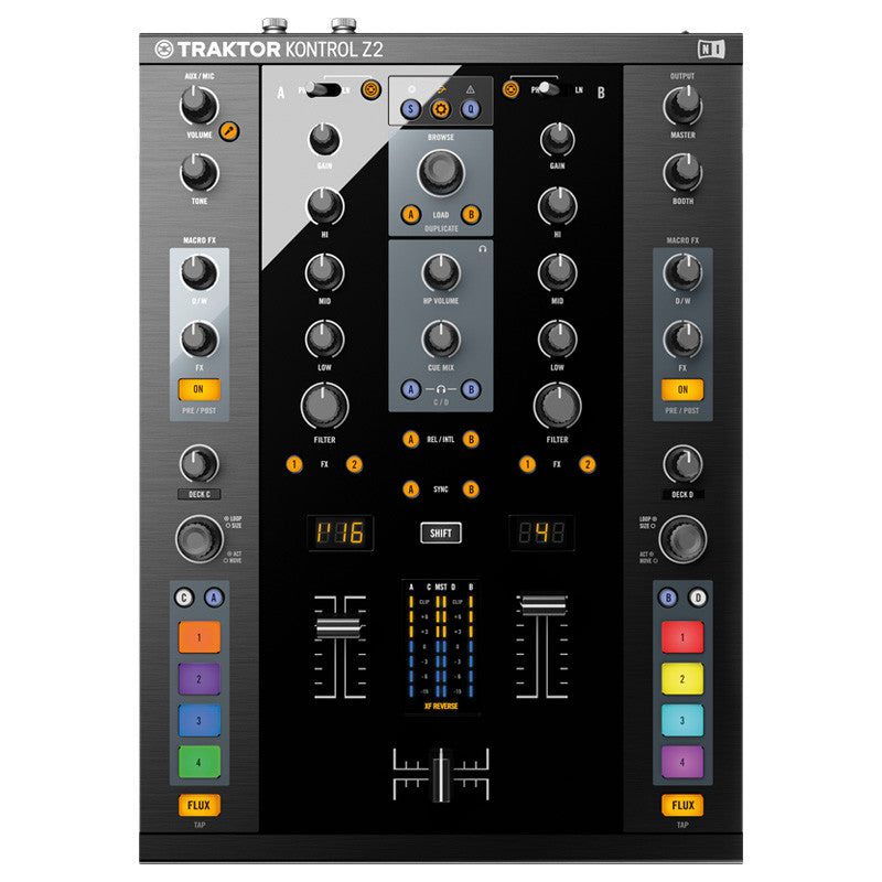 Native Instruments: Traktor Kontrol Z2 Control Mixer top
