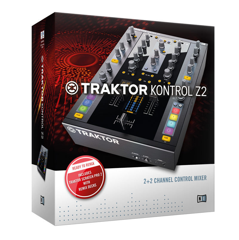 Native Instruments: Traktor Kontrol Z2 Control Mixer box