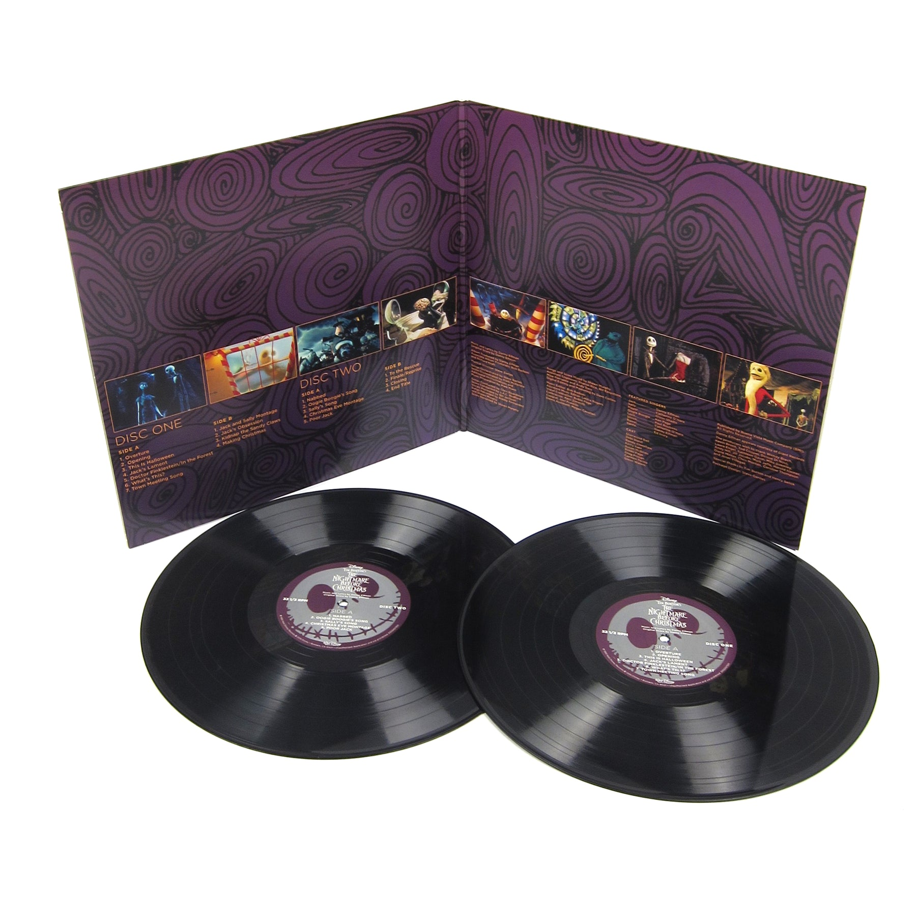 danny elfman tim burtons the nightmare before christmas soundtrack vinyl 2lp - Making Of Nightmare Before Christmas