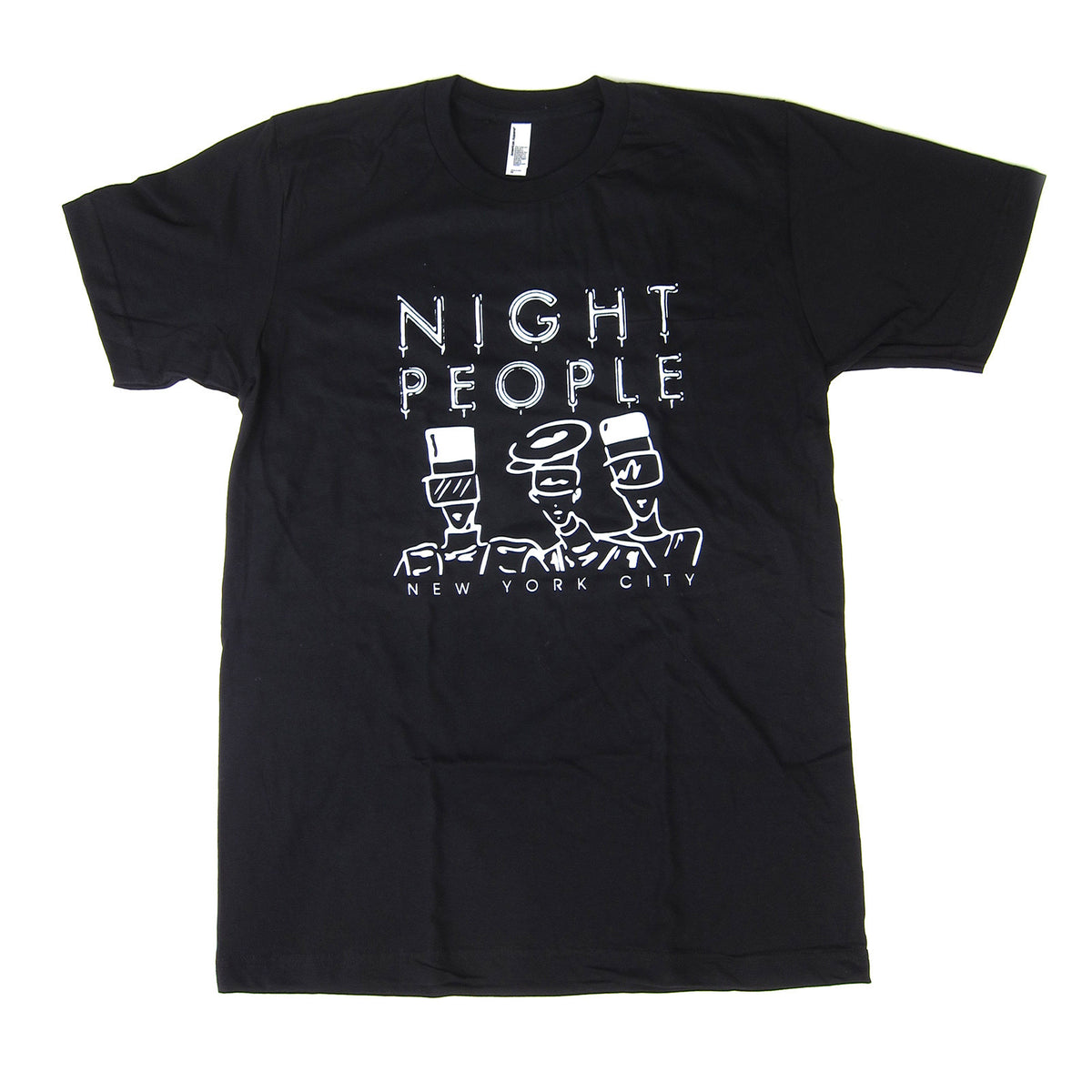 Night People: Night People Shirt - Black